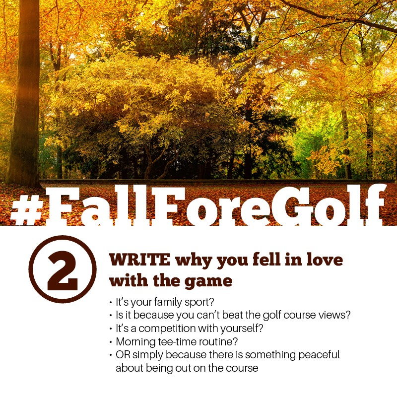 Fall Fore Golf 3