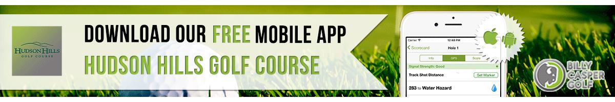 Hudson Hills Golf App