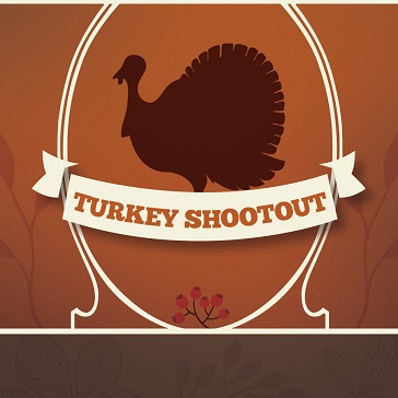 Turkey Shootout event at golf course