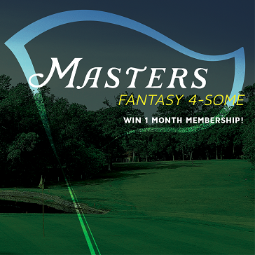 Masters Pick 4 some Win Membership at Knoxville Golf course