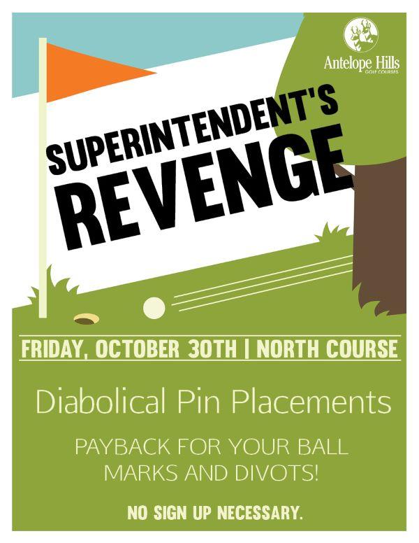 Superintendent's Revenge