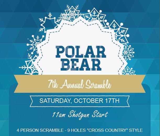 polar bear scramble golf event