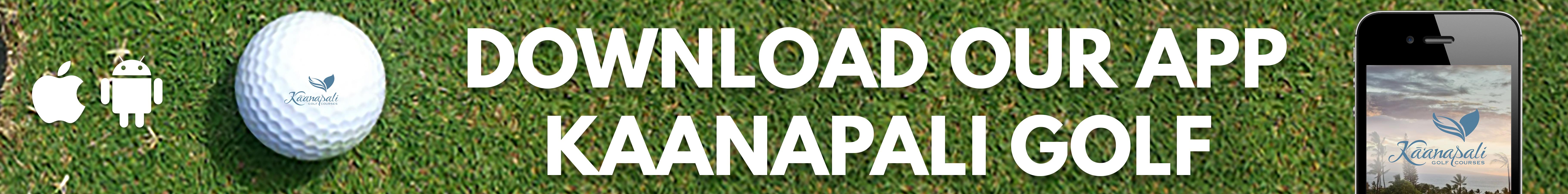Kaanapali Golf App