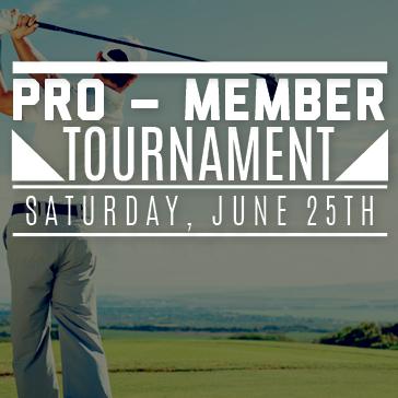 Pro-Member Tournament at St Johns
