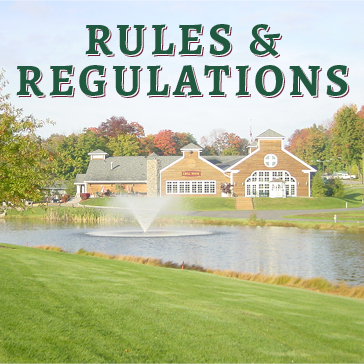 Rules and Regulations at Wallkill Golf Club