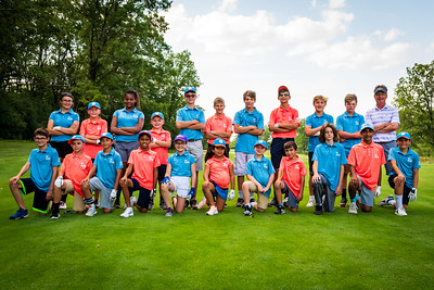 Junior Golfers at George Dunne Golf Course