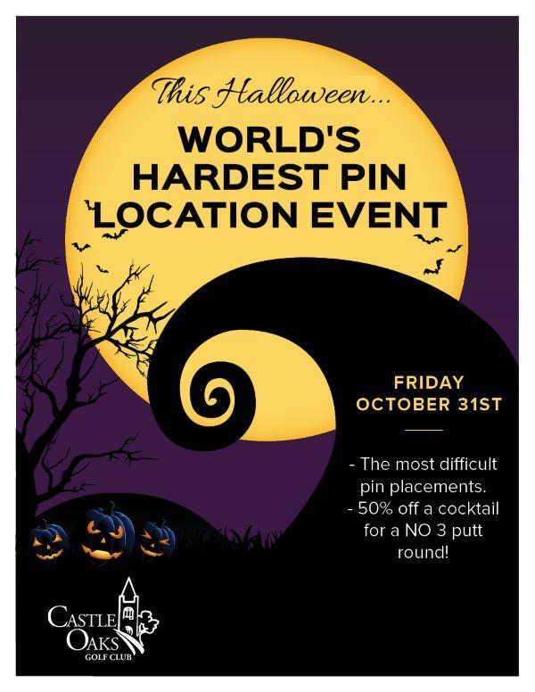 World's Hardest Pin Location