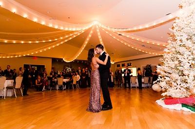 A wedding at Spring Creek Golf Club in Charlottesville Virginia