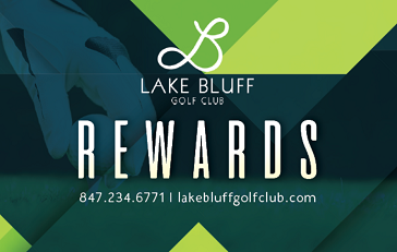 Lake Bluff Golf Club Rewards Card