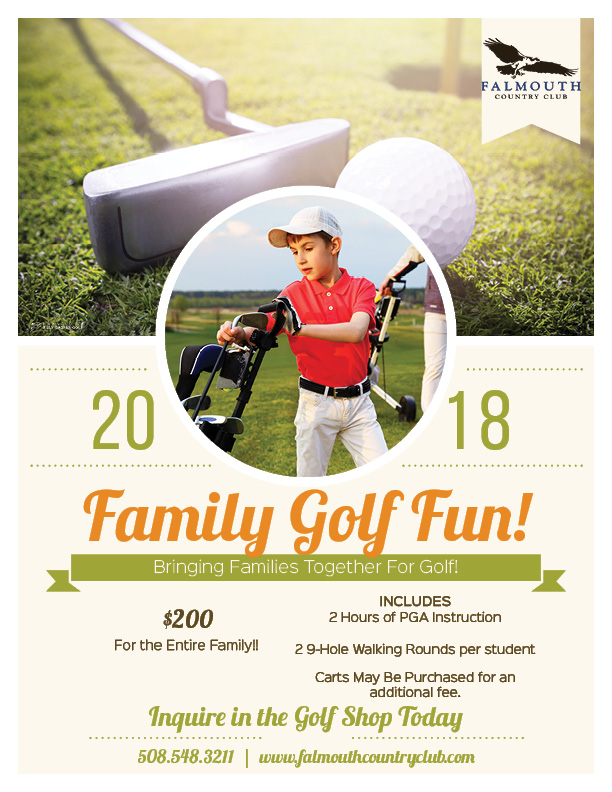 Family Golf Fun Flyer!!
