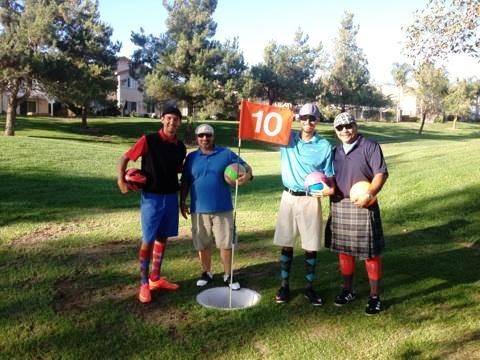 Yucaipa Valley FootGolf outing