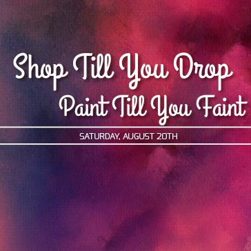 Shop til you Drop - Paint night at Colony West