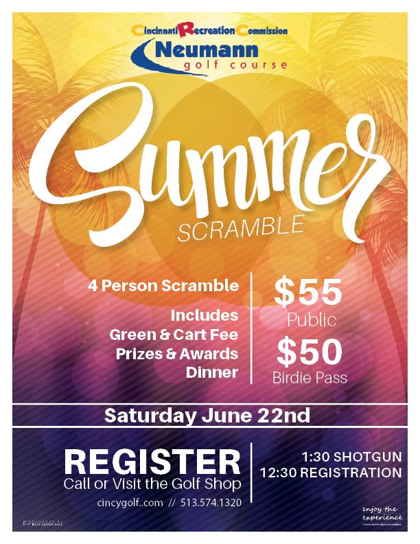 Neumann Summer Scramble