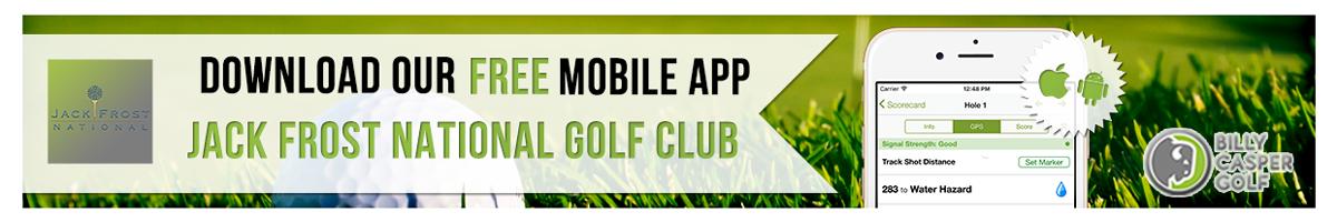 Jack Frost Golf App