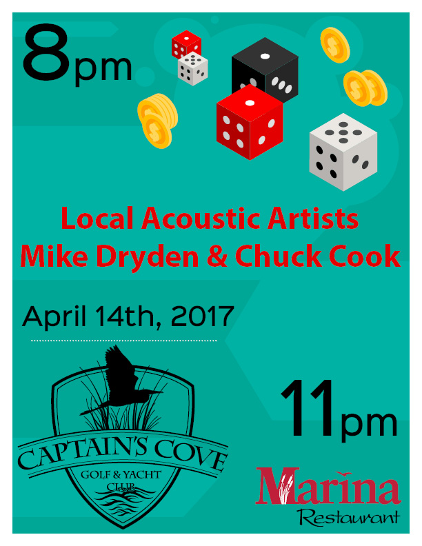 Local Acoustic Artists Mike Dryden & Chuck Cook