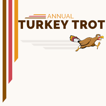 The annual 5k turkey trot at Captains Cove Golf and Yacht Club in greenbackville, va
