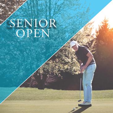 Senior Open Golf Event