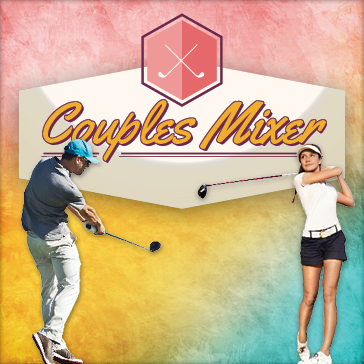 9 hole couples mixer golf tournament at fernandina beach golf club in ameila island, FL