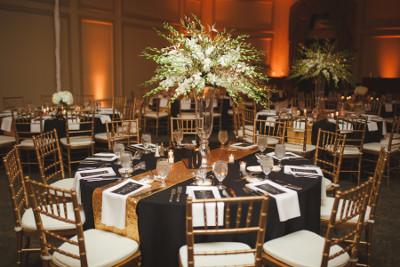 1757 Golf Club - wedding set up