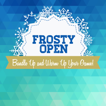 Play in our fun Frosty Golf Open this winter!