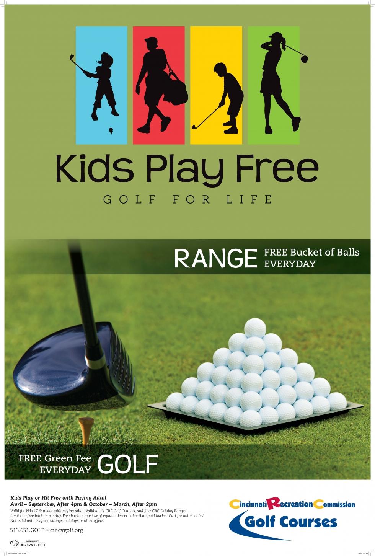 CRC Kids Play Free Poster