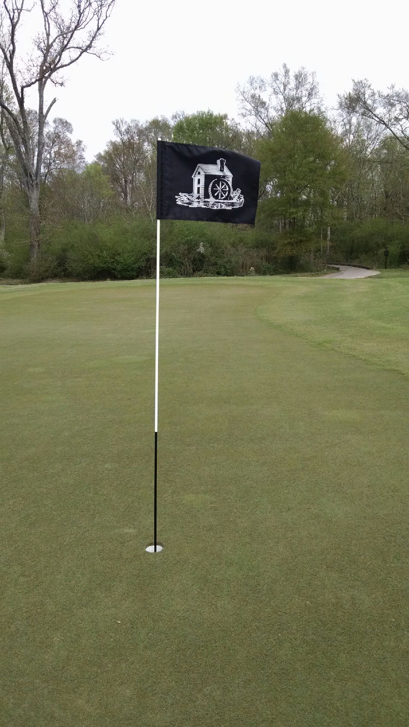 Copper Mill Golf Club - #1 Green 6.18.15
