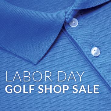 Labor Day golf shop sale at billy casper golf