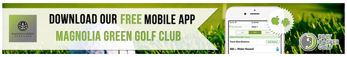 Magnolia GreenGolf App