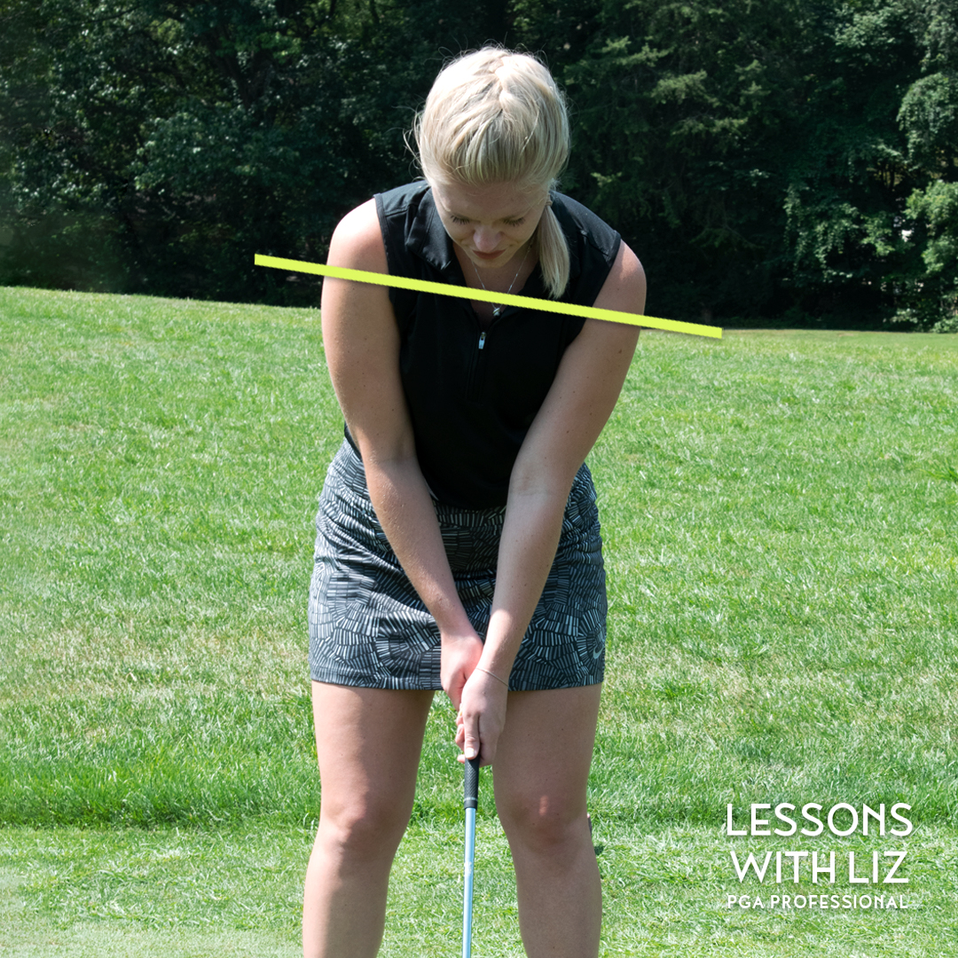 LINKS: Lessons with Liz - Lefty Shoulder Tilt