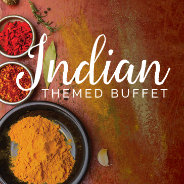 Indian Themed Buffet  at Brewton Country Club