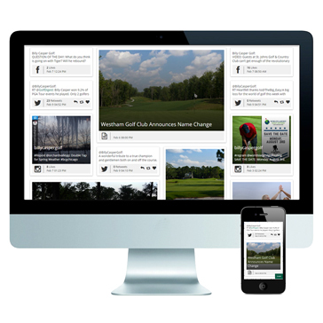 The Billy Casper Digital Network, a golf content digital platform that will keep you in tune with the heartbeat of the golf industry.