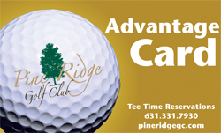 Pine Ridge Advantage Card