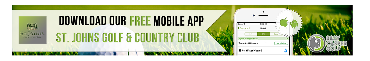 St Johns Golf App