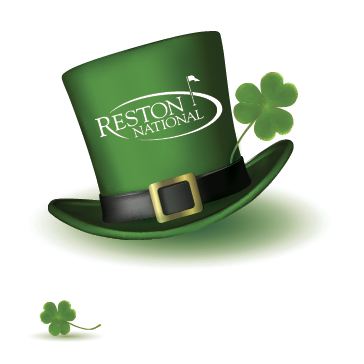 St. Patrick's Day golf event at Reston National Golf Course