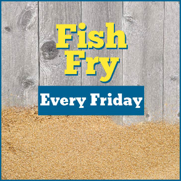 Fish Fry Fridays at Water's Edge Golf Club