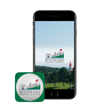 Duluth golf app phone icon