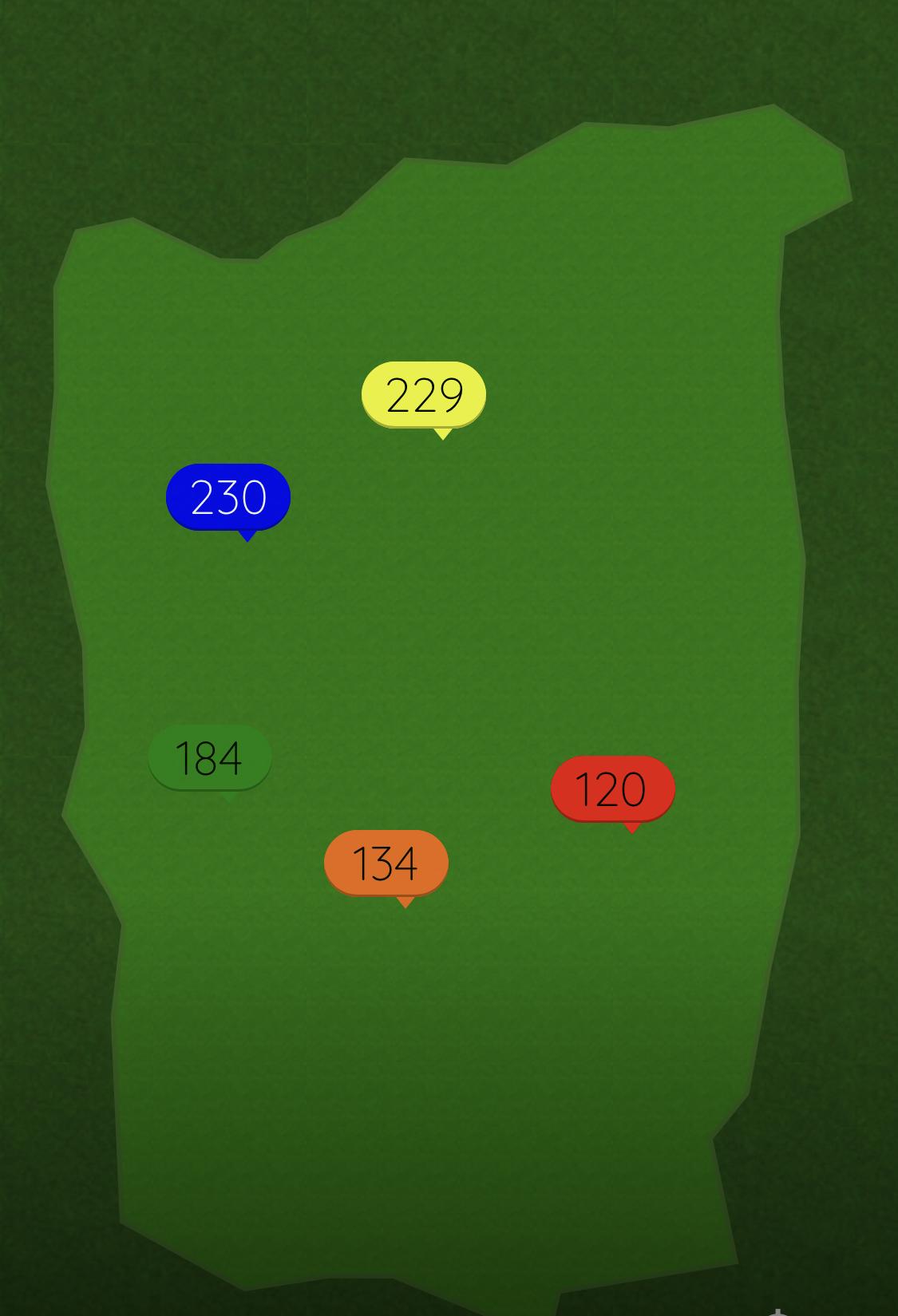 Range APP yardage