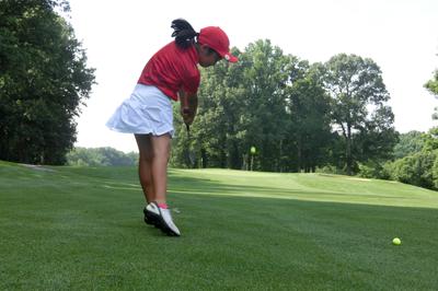 Reston National Advanced camp golfer