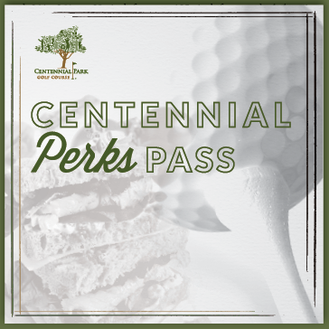 Perks Pass for Centennial Park Golf Course in Munster, Indiana
