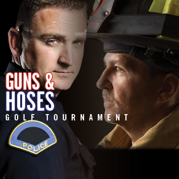 Guns and Hoses Golf Tournament at golf course