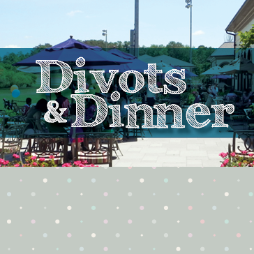 Divots and Dinner golf and dining event at 1757 Golf Club in Dulles, VA