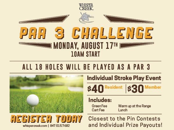 Whisper Creek Par 3 Challenge
