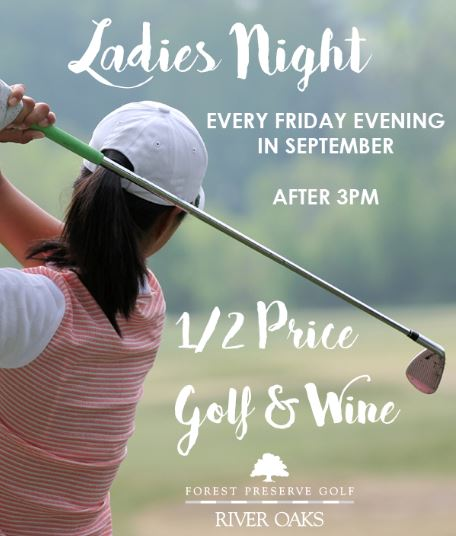 River Oaks golf course - womens golf in september