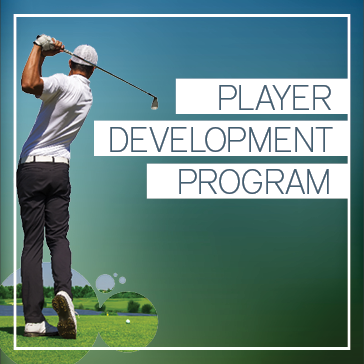 PDP: Player Development Program at golf course