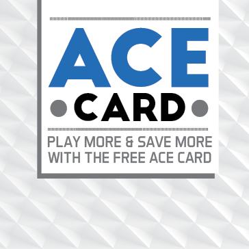 Whisper Creek Golf Course ACE Card