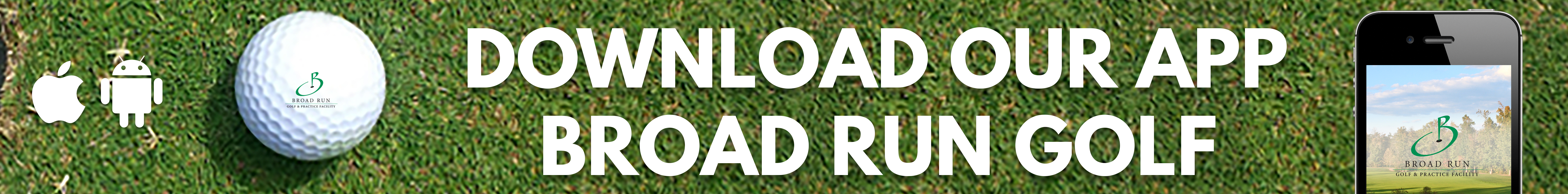 Broad Run Golf App