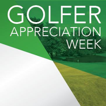 Chicago Park District Golf Golfer Appreciation Week