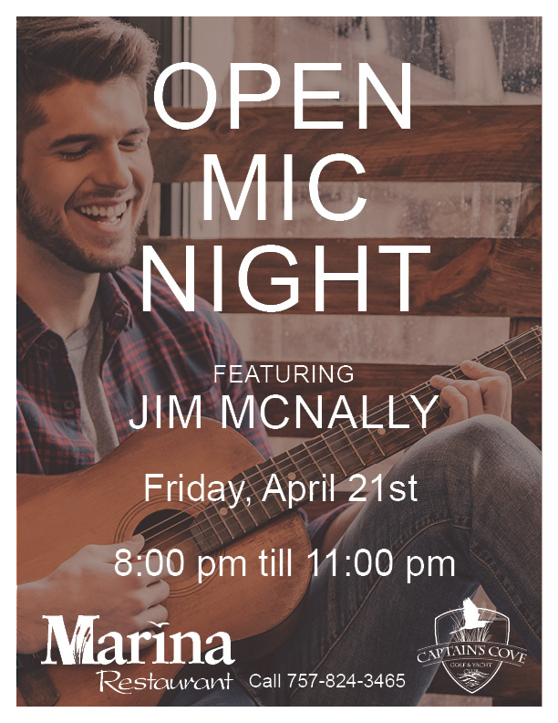 Open Mic Hosted by Jim McNally