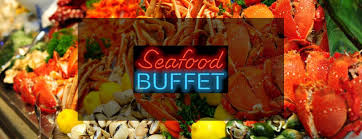 Seafood buffet at Antelope Hills Golf Course