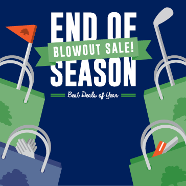 End of Season Blowout Sale at Forest Preserve Golf